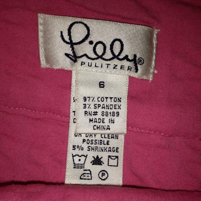 Lilly Pulitzer Stretch Fabric Mini Skirt Pink Image 3