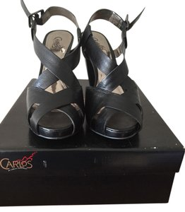 Carlos by Carlos Santana Black Wedges