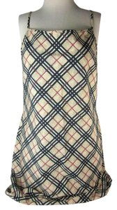 Burberry Beige Nova Check Swim Sz: 6 Dress