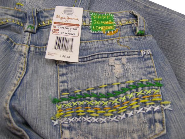 Preload https://img-static.tradesy.com/item/21487106/pepe-jeans-lt-karma-distressed-london-embroidered-nwe-seal-tag-boot-cut-jeans-size-27-4-s-0-3-650-650.jpg
