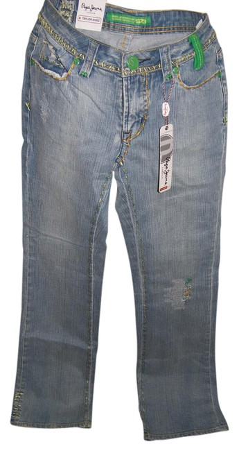 Pepe Jeans Taylor 61802 Boot Cut Jeans-Distressed Image 1