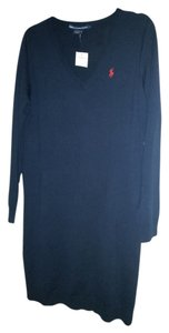 Ralph Lauren short dress Hunter Navy Classic on Tradesy