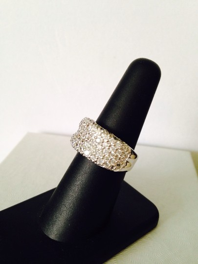 Other 4.55 tcw White Lab Created Diamond Band, Size 7