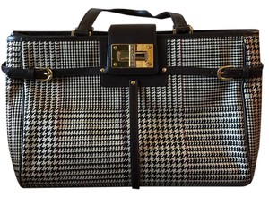 Ralph Lauren Gold Hardware Sig Tote in Check Brown