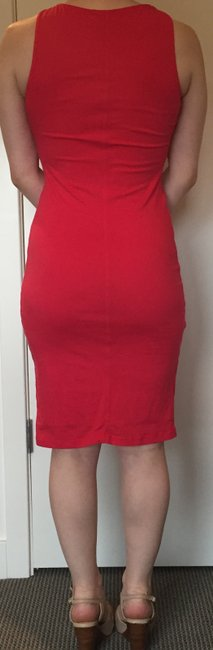 Velvet by Graham & Spencer short dress Pink Ruched Bodycon on Tradesy