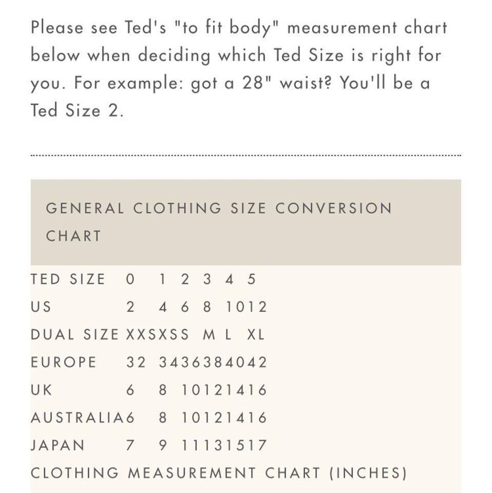Japanese To American Clothing Size Conversion | AGBU Hye Geen