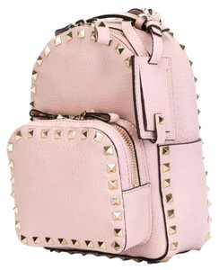 5cabf41054 Added to Shopping Bag. Valentino Backpack. Valentino Rockstud Small Rose  Pink Leather Backpack