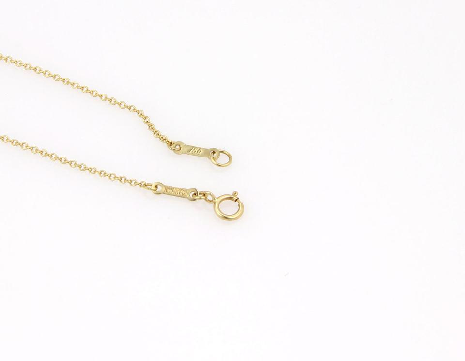 Tiffany co yellow gold peretti apple pendant necklace tradesy yellow gold peretti apple pendant necklace mozeypictures Image collections