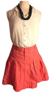 A|X Armani Exchange Skirt Bright Coral
