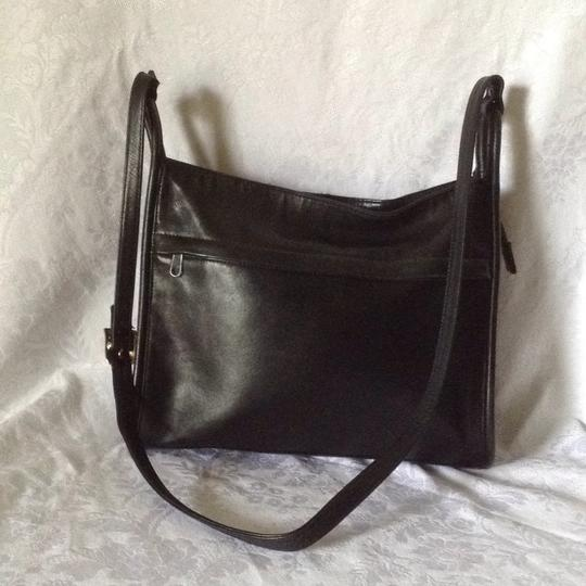 Lord & Taylor Old Leather Vintage Cross Body Bag Image 1