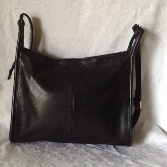 Lord & Taylor Old Leather Vintage Cross Body Bag Image 3