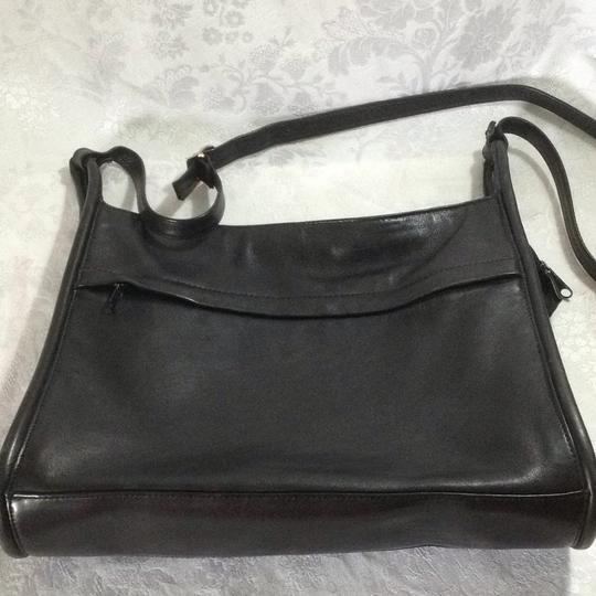 Lord & Taylor Old Leather Vintage Cross Body Bag Image 8