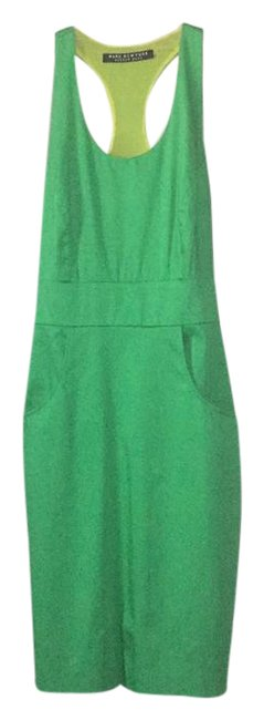 Item - Bright Green Night Out Short Casual Dress Size 6 (S)
