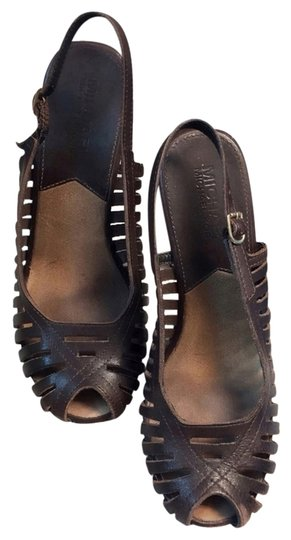 Michael Kors Dark Brown Mules