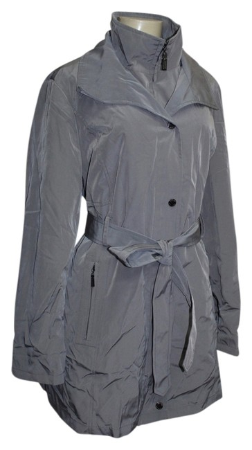 Preload https://img-static.tradesy.com/item/2149074/ellen-tracy-grey-coatjacket-removable-lining-belted-trench-coat-size-12-l-0-0-650-650.jpg