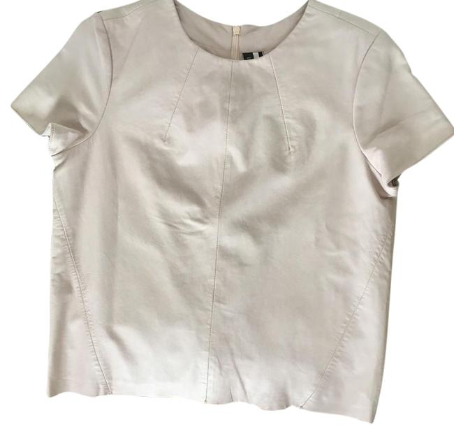 Item - Sheep Leather Pale Pink Top