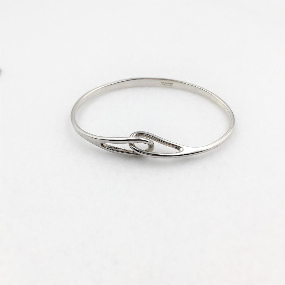 19193669d Tiffany & Co. Sterling Silver 18k Yellow Gold Double Interlocking ...