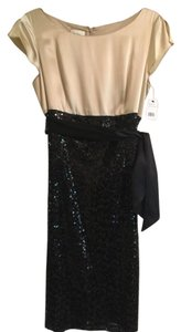 Lafayette 148 New York Cocktail Sequins Knee Lenght Dress