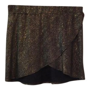 Alexis Mini Skirt Gold