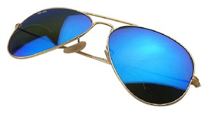 Ray-Ban Ray-Ban Aviator Blue Flash Lens/Gold Frame Sunglasses RB3025 112/17