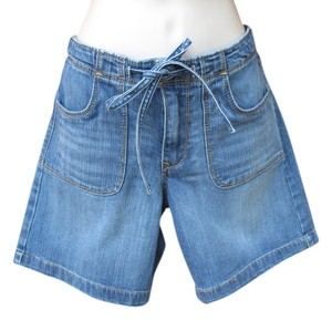 Old Navy Mini/Short Shorts Medium Wash Denim