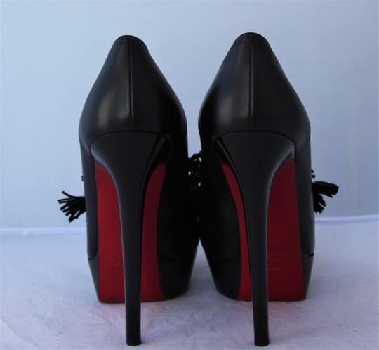 Christian Louboutin Pigalle Thigh High Spikes Studs Black Pumps Image 10