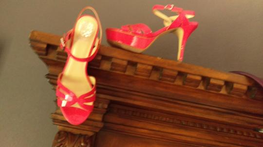 Vince Camuto Sexy Hot pink Platforms