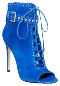 Brian Atwood Blue Boots