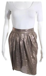 GERARD DAREL Mini Skirt gold