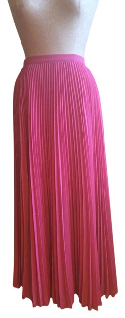 Item - Pink Pleated Skirt Size 10 (M, 31)