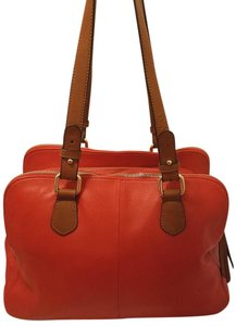 Isaac Mizrahi Live! Leather Extra-large Multi-compartmemnt Lined Hobo Bag