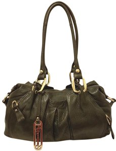 B. Makowsky Refurbished Leather Extra-large Lined Hobo Bag