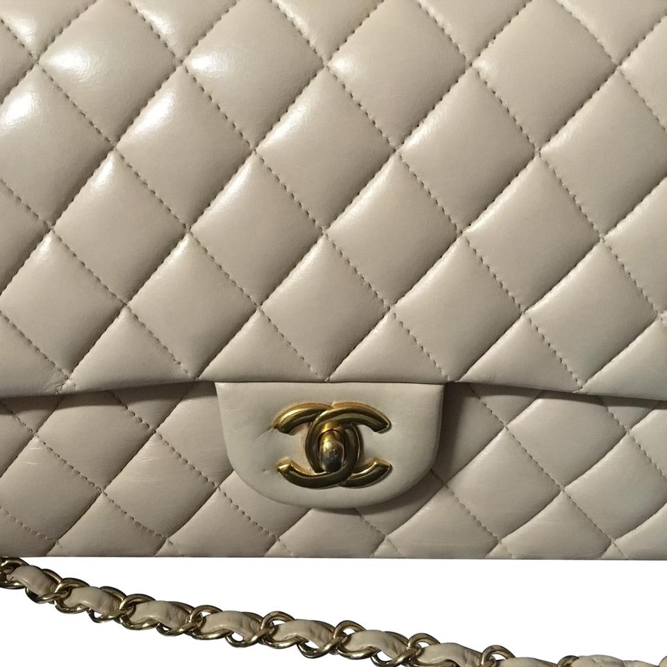 ae129b3bdb49 Chanel Classic Flap 2.55 Reissue (Just Reduced) Quilted Double Ghw (Like  New) Nude Lambskin Shoulder Bag