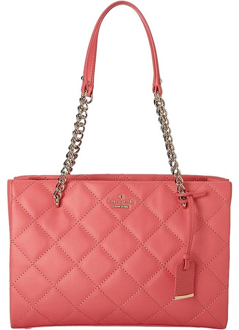 Item - New York Emerson Place Small Phoebe Warm Guava Leather Shoulder Bag