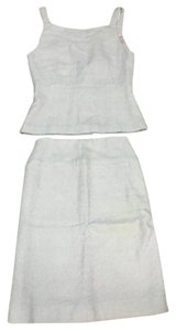 Chanel 90% OFF!!! Vintage CHANEL lavender tweed peplum tank & skirt set