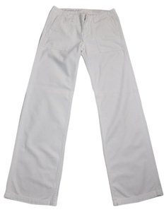 AG Adriano Goldschmied Goldschmeid Marine Straight Pants White
