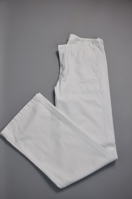 AG Adriano Goldschmied Marine Twill Size 29 Straight Pants White