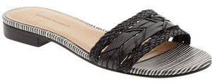 Banana Republic Sandals Beach Wear Black & White Flats