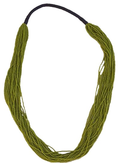 Preload https://img-static.tradesy.com/item/2149544/lime-green-and-navy-bohemian-necklace-hand-beaded-with-string-detailing-0-0-540-540.jpg