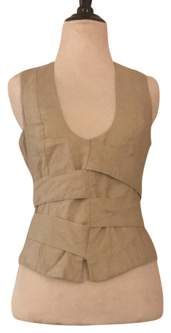 Preload https://img-static.tradesy.com/item/21495495/beige-with-gold-accents-in-the-threading-none-tank-topcami-size-2-xs-0-1-650-650.jpg