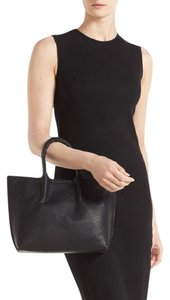 Street Level Crossbody Wristlet Tote in Black