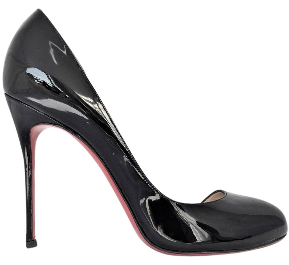 fec760e37e3 Christian Louboutin Black 39it Helmour Patent Leather High Heel Red Sole  Lady Fashion Toe Pumps. Size  EU 39 ...
