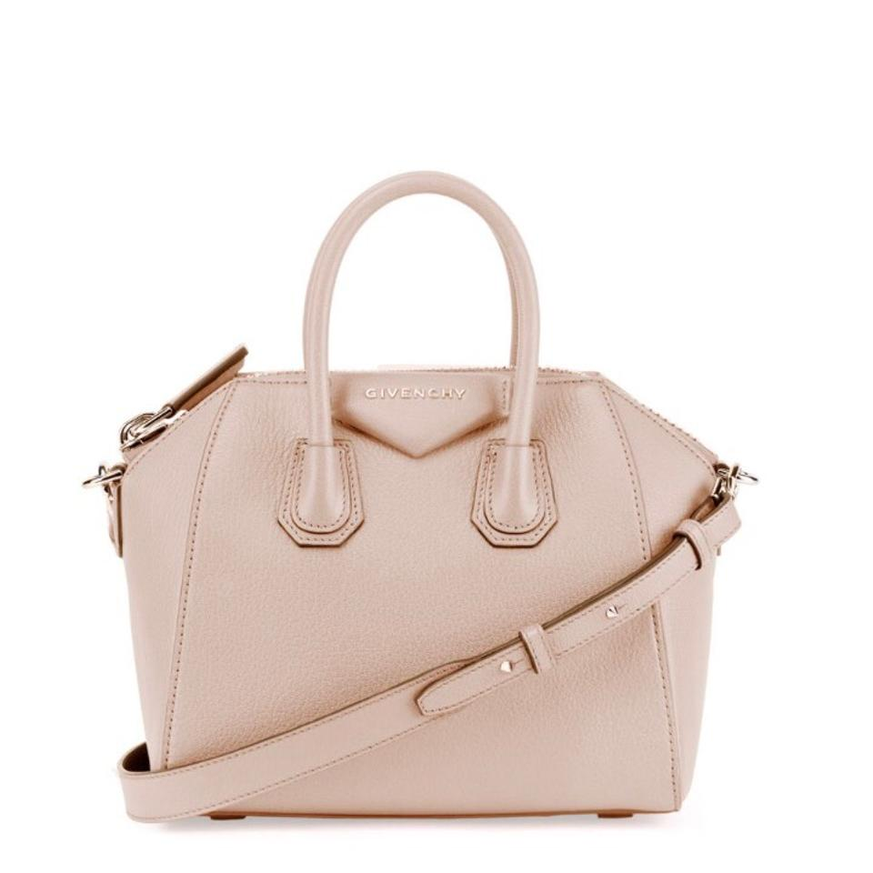 79fa85729b56 Givenchy Antigona Mini Sugar Satchel Pink Nude Cross Body Bag - Tradesy