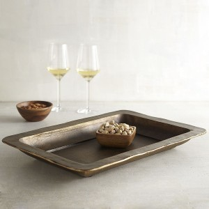 Antiqued Bronze Tray