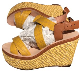 Max & Co. yellow Wedges