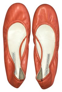 Vera Wang Lavender Label Orange Flats