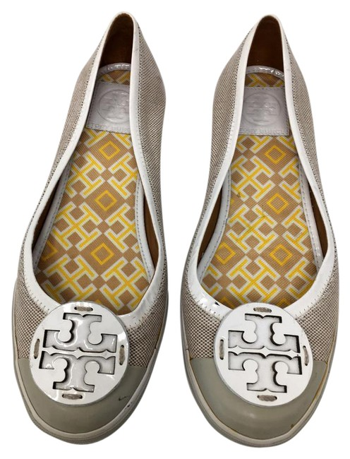Item - Gray Signature Reva Canvas Slip On Summer Beach Flats Size US 8.5 Regular (M, B)