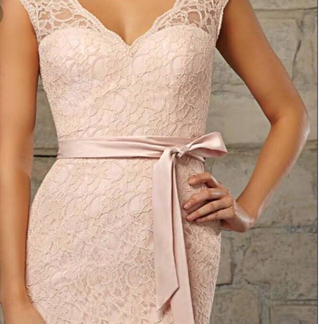 Item - Blush Pink Lace Affairs By Madeline Gardner Formal Bridesmaid/Mob Dress Size 6 (S)