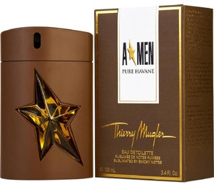 Thierry Mugler A MEN PURE HAVANE by MUGLER 3.4 oz/100 ml EDT Spray Mens,New in box.