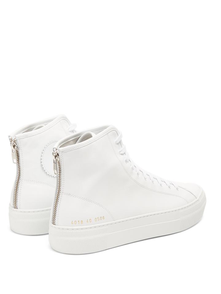 89db76f25ae4d Common Projects High Top Trainer Normcore Sneaker White Athletic Image 0 ...